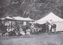 Camping at Lake Metigoshe