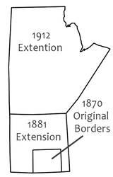 Manitoba Borders